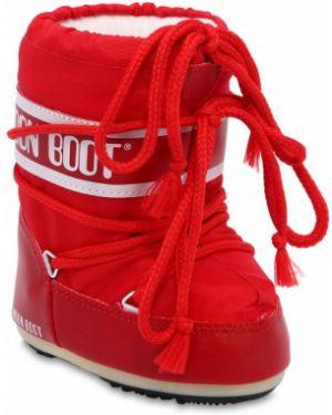 Półbuty z logo Moon Boot