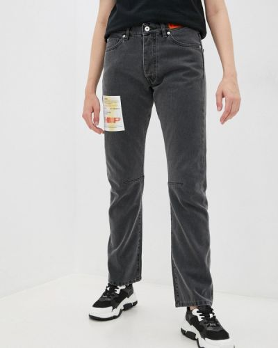 Прямые джинсы - серые Heron Preston