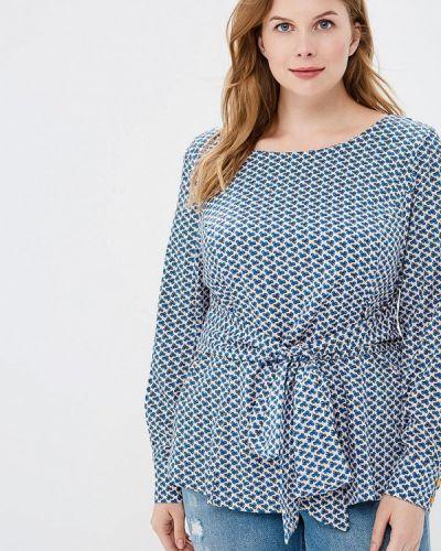 Блузка синяя весенний Matilda