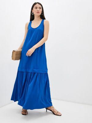 Синее платье Twinset Milano