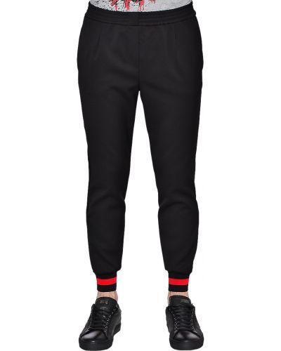 Черные спортивные брюки из вискозы Philipp Plein