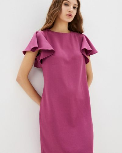 Платье футляр - фиолетовое Shovsvaro