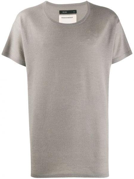Z kaszmiru t-shirt krótki rękaw Frenckenberger