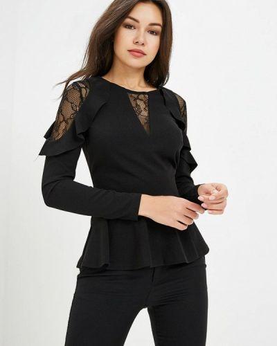 Черная блузка с рюшами Love Republic