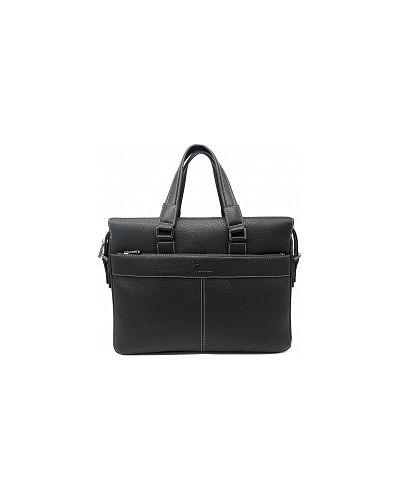 Черный кожаный портфель Pellecon