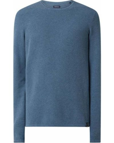 Sweter bawełniany - niebieski Mcneal