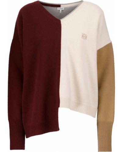 Шерстяной свитер - бежевый Loewe