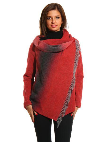 Шерстяной пиджак - красный Patrizia Pepe