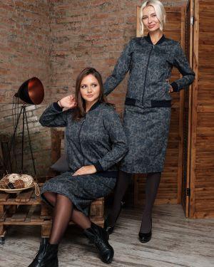 Юбочный костюм из вискозы из плотной ткани Victoria Filippova