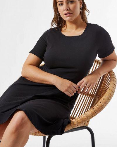 Повседневное черное повседневное платье Dorothy Perkins Curve