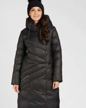 Зимняя куртка утепленная черная D`imma
