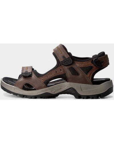 Коричневые сандалии Ecco