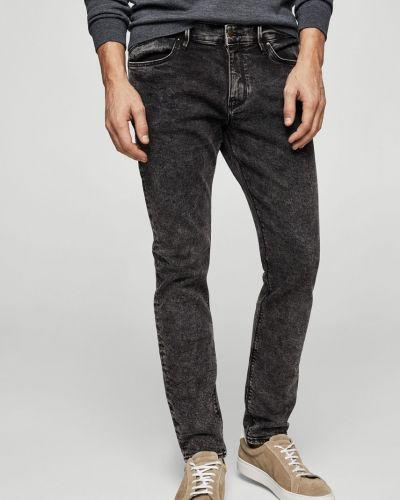 Серые джинсы-скинни Mango Man