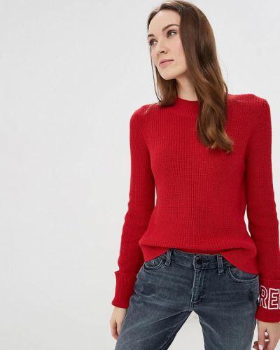 Красный свитер осенний Colin's