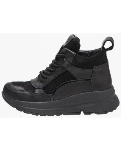 Кожаные ботинки - черные Bosser
