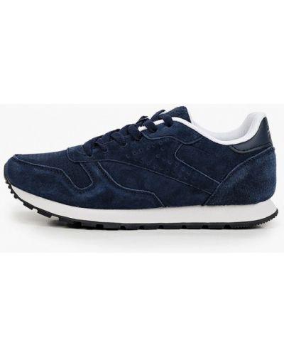 Синие кроссовки из нубука Escan