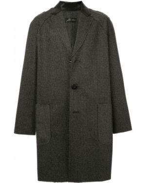 Классическое шерстяное длинное пальто с рукавом реглан Zambesi