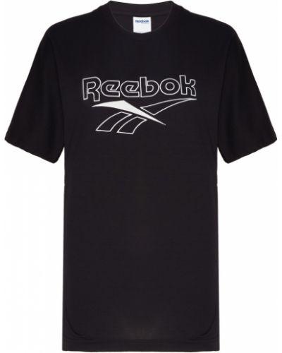 Футболка белая черная Reebok