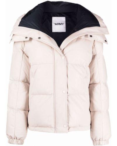 Белое пальто длинное Yves Salomon
