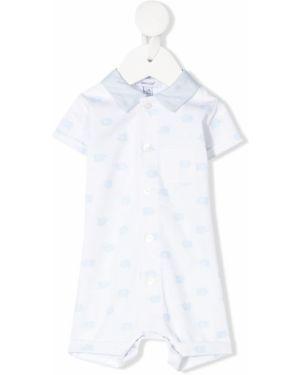 С рукавами белый комбинезон с карманами Absorba