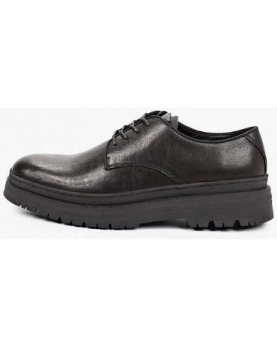 Черные кожаные ботинки Vagabond