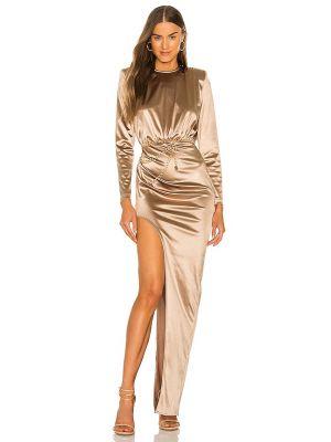 Пляжное платье макси - золотое Bronx And Banco