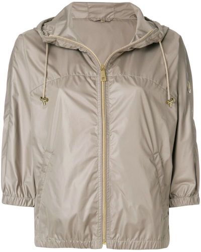 Куртка с капюшоном на молнии с карманами Fay