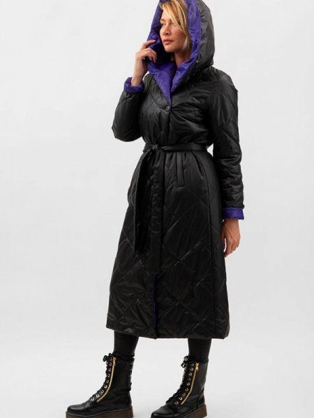 Утепленная куртка демисезонная черная Doctor E