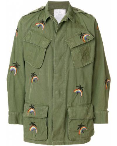 Куртка милитари с вышивкой As65