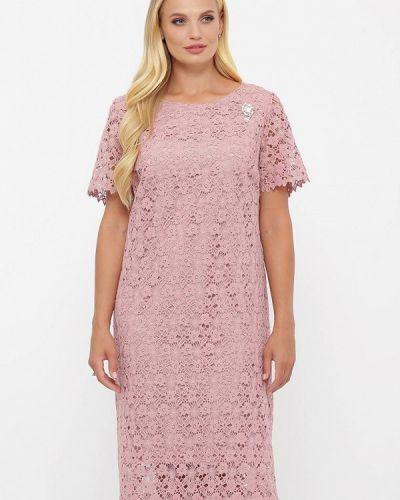 Розовое вечернее платье Vlavi