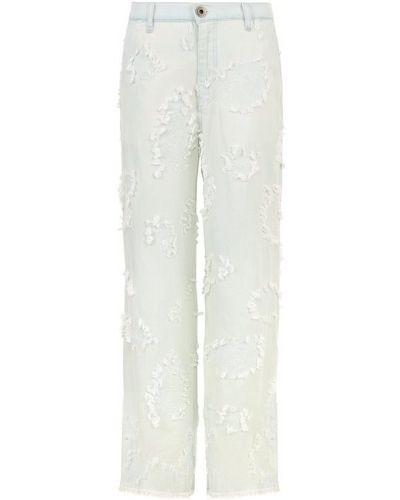 Расклешенные джинсы с эффектом потертости Chloé