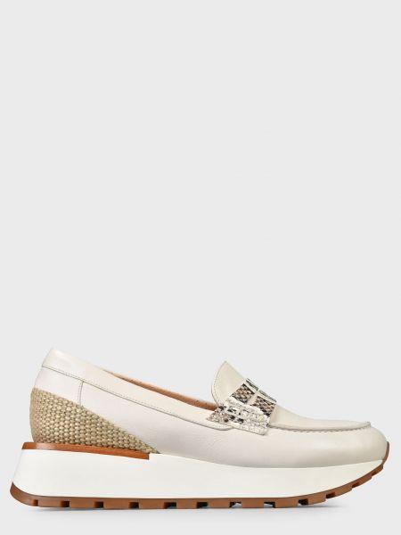 Кожаные туфли - бежевые Laura Bellariva