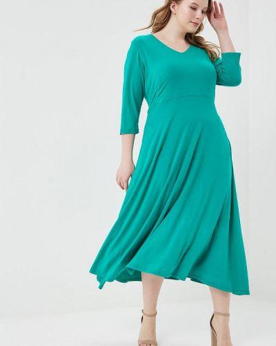 Зеленое платье весеннее Svesta