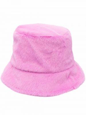 Różowy kapelusz Apparis