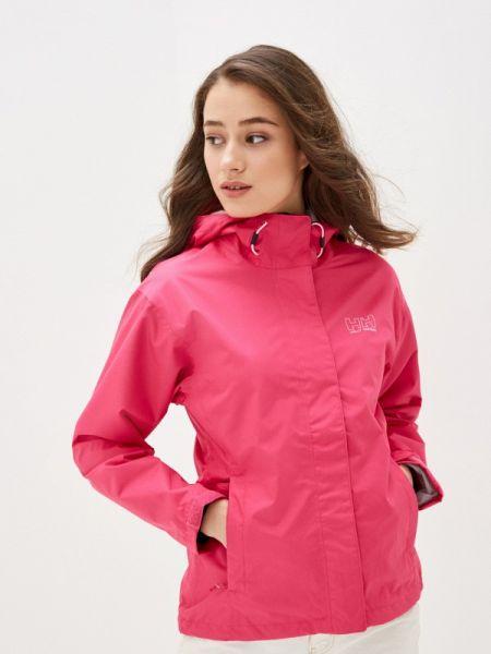 Розовая куртка Helly Hansen