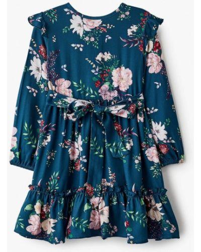 Повседневное синее платье Acoola
