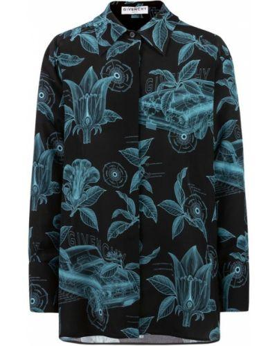 Bluza z jedwabiu zapinane na guziki Givenchy