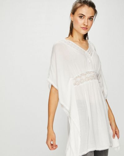 Свободное платье мини свободного кроя с вырезом Sublevel