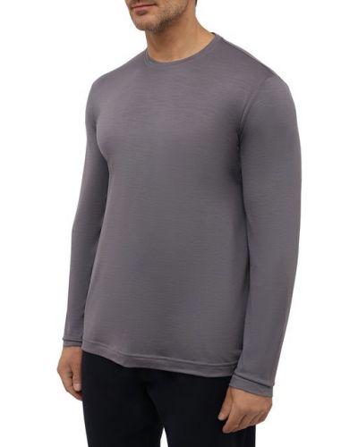 Серая шерстяная футболка Capobianco