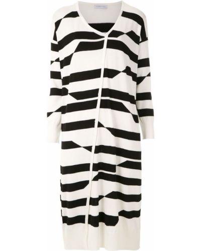 Платье свободного кроя - белое Mara Mac