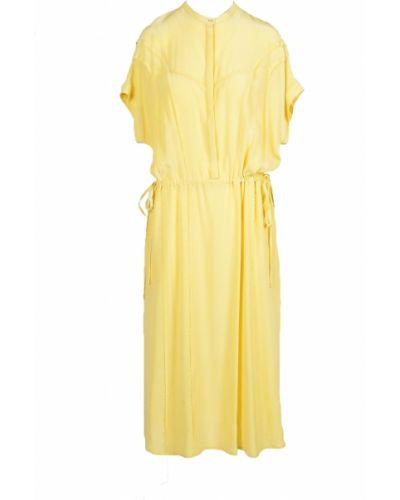 Żółta sukienka Alysi