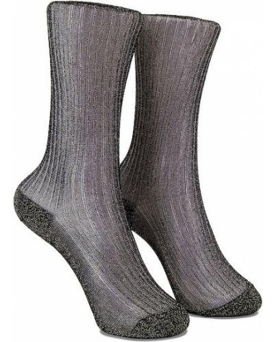 Черные носки из вискозы Isabel Marant
