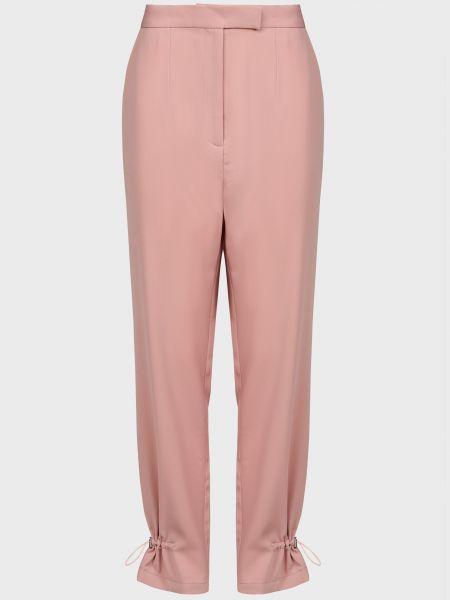 Розовые брюки на молнии The Fifth Label