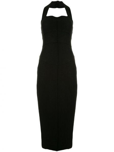 Шерстяное платье с открытой спиной Chanel Pre-owned