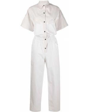 Klasyczne białe krótkie szorty bawełniane Forte Dei Marmi Couture