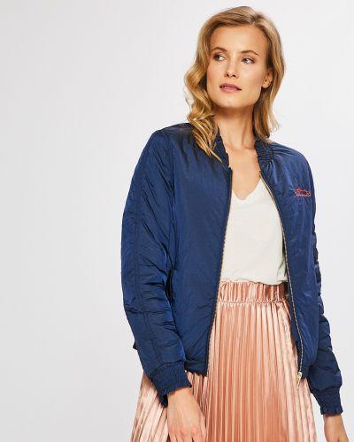Утепленная куртка с карманами нейлоновая Scotch & Soda