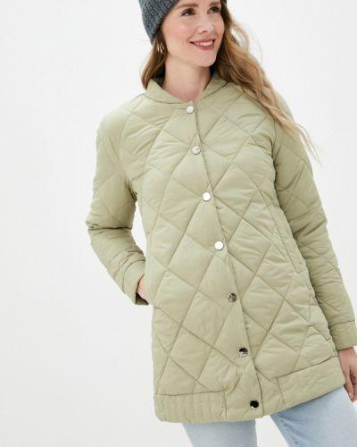 Зеленая теплая куртка Fadjo