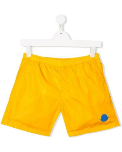 Плавки желтый с карманами Moncler Kids