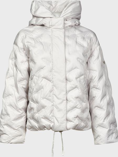 Куртка на молнии - серая Emporio Armani