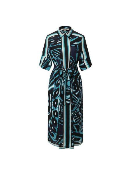 Платье с поясом платье-рубашка с бабочками Diane Von Furstenberg